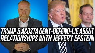 DISGRACEFUL!!! Trump and Acosta Refuse to Tell the Truth About Jeffrey Epstein!