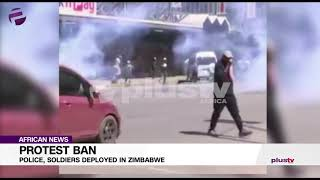 Protest Ban: Police, Soldiers Deployed in Zimbabwe