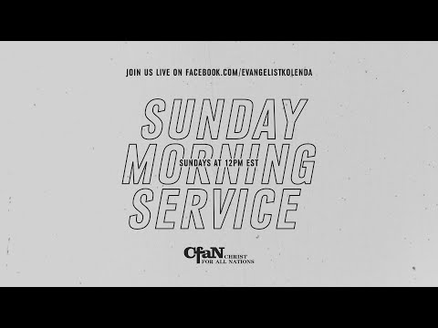 Sunday Morning Service - April 5, 2020