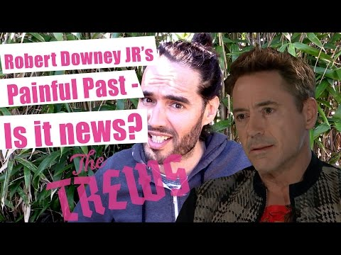 Robert Downey Jr's Painful Past - Is That News? Russell Brand The Trews (E305) - UCswH8ovgUp5Bdg-0_JTYFNw
