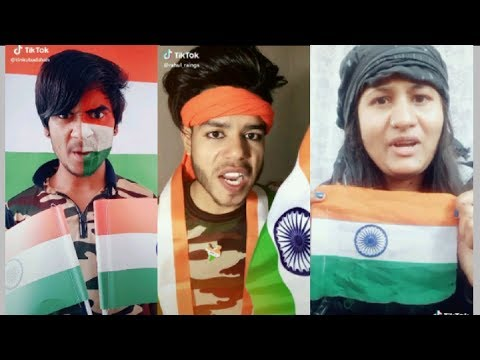 CRPF Pulwama attack Indian army TIKTOK MUSICALLY video 2019||tiktok par bhi Gussa