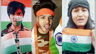 CRPF Pulwama attack Indian army TIKTOK MUSICALLY video 2019||tiktok par bhi Gussa