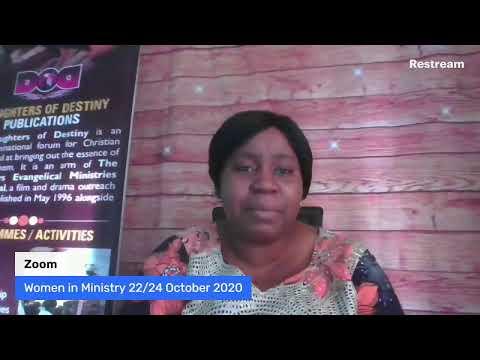 WOMEN IN MINISTRY PROGRAM 01/10/2020