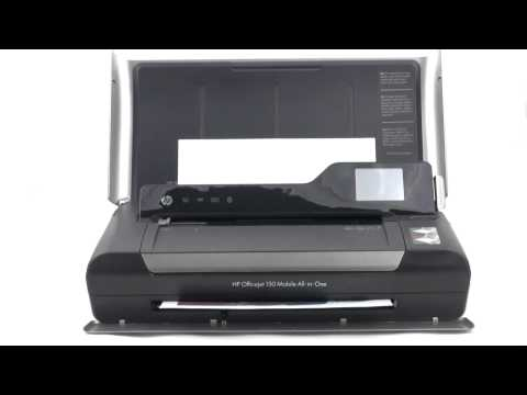 HP Officejet 150 world's first color inkjet mobile all-in-one device - UCbVXanfVGfvx9p7KfGxnMWQ