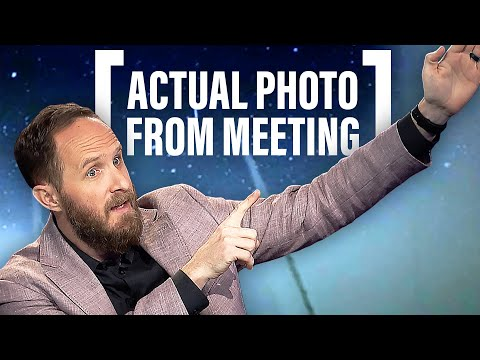 He Sees Earth, Wind, Fire & Water Appear at His Meetings