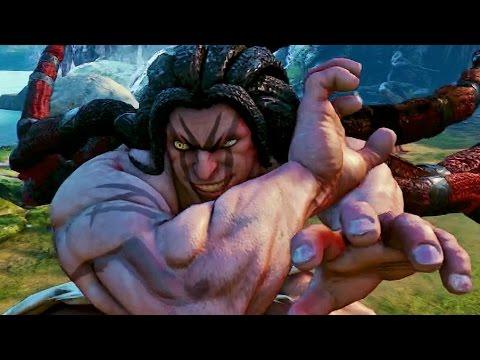 Street Fighter V Gameplay Demo - IGN Live: Gamescom 2015 - UCKy1dAqELo0zrOtPkf0eTMw