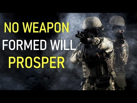NO WEAPON FORMED WILL PROSPER - BIBLE PREACHING  PASTOR SEAN PINDER