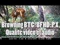 Browning BTC 8 FHD PX - Qualité vidéo et audio