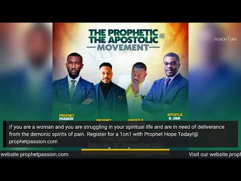 The Power Behind Deliverance- LIVE! with Prophet Hope