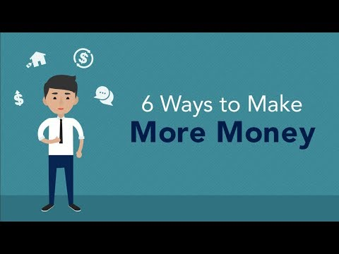 6 Ways to Make More Money  Brian Tracy