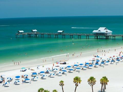 Clearwater, Florida, DJI Phantom 3 Drone 2016 4K