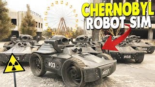 Chernobyl Clean-Up Simulator - Driving REAL Robots & Gathering Energy | Isotopium Chernobyl Gameplay
