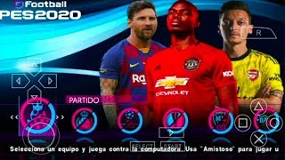 SUPER UPDATE!! PES 2020 PPSSPP Android New Transfers & Faces Kits Best Ultra Graphics