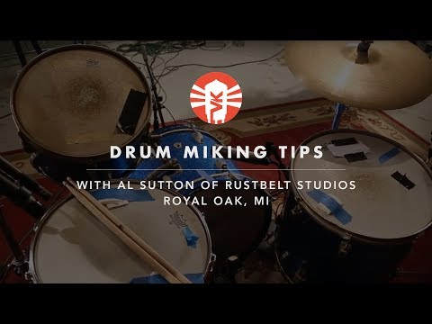 Drum Miking Tips With Al Sutton of Rust Belt Studios - UChO0wZB4aWKjDcH79kKyC-Q