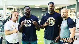 DILLIAN WHYTE BACK IN TRAINING!!! EDDIE HEARN CLAIMS HE'LL FIGHT AGAIN THIS YEAR!!!