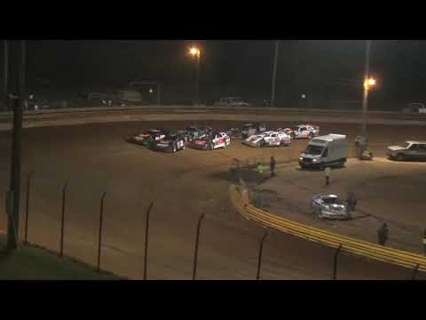 602 Charger at Lavonia Speedway April 23rd 2021 - dirt track racing video image