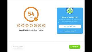 Duolingo Day 137: French Junk