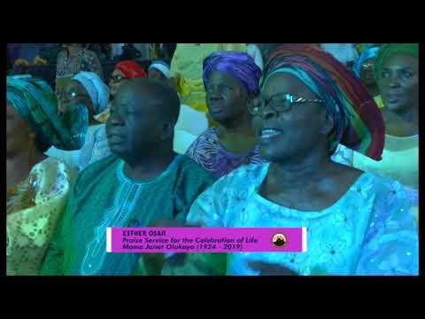 Late Ma Janet Olukoya Special Praise Service Esther Osaji