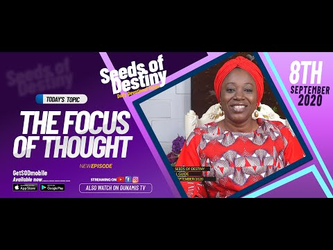 Dr Becky Paul-Enenche - SEEDS OF DESTINY - TUESDAY SEPTEMBER 8, 2020