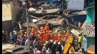 Four-storey building collapses in Maharashtra's Bhiwandi; 1 dead, many feared trapped