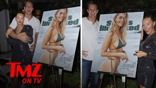 Rob Gronkowski Squats With His Supermodel GF Around His Neck | TMZ TV
