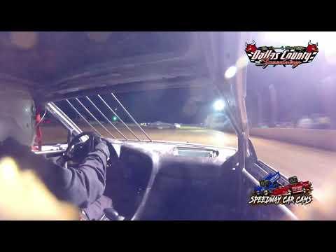 #95 Cal Mckeegan - 4 Cylinder - 7-9-2021 Dallas County Speedway - In Car Camera - dirt track racing video image