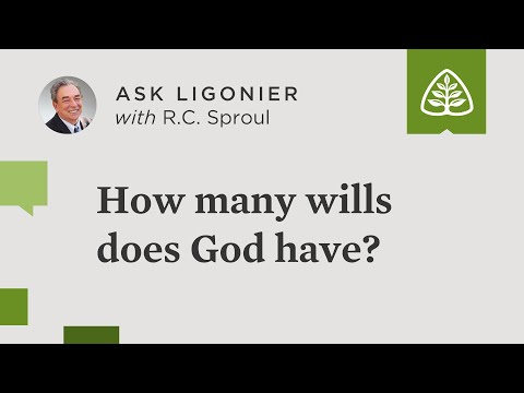 How many wills does God have?