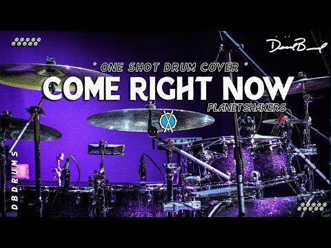 Come Right Now Drum Cover // Planetshakers // [one shot]