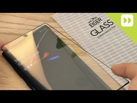 Eiger Samsung Galaxy Note 10 Plus 3D Glass Screen Protector Installation & Review - UCS9OE6KeXQ54nSMqhRx0_EQ
