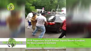 IPOB SUPPORTERS ATTACK FORMER DEPUTY SENATE PRESIDENT, IKE EKWEREMADU, IN GERMANY
