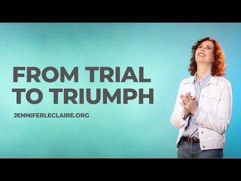 I Decree Your Trial Will Transform Into Triumph!