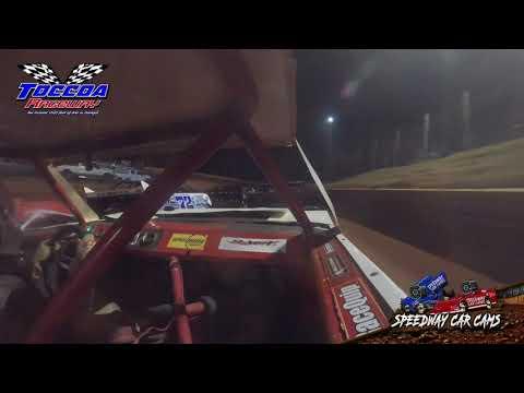 #01 Austin Robins - Stock 4 - 10-23-21 Toccoa Raceway - In-Car Camera - dirt track racing video image