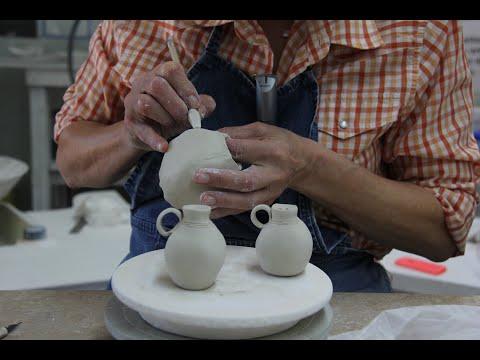 Handbuilding porcelain dinnerware by Antoinette Badenhorst - UCsHzOIwODhKnDuwXCnGqQmQ