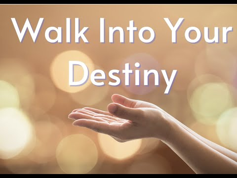 Time for Promotion - Walk into Your Destiny!