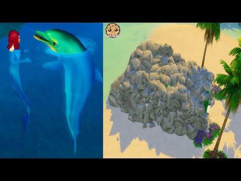 Secret Mermaid House + Nursery !! Island Living Sims 4 Ocean Life Video - UCelMeixAOTs2OQAAi9wU8-g