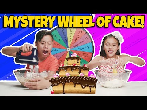 MYSTERY WHEEL OF CAKE CHALLENGE!!! Who Can Bake the Best Dessert??? - UCHa-hWHrTt4hqh-WiHry3Lw