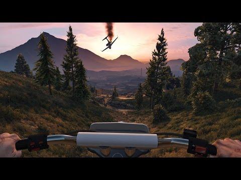 Grand Theft Auto 5 First-Person Trailer - UCKy1dAqELo0zrOtPkf0eTMw