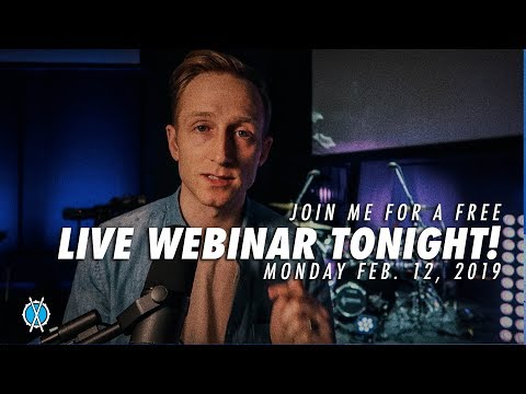 Live Drum Webinar TONIGHT! (8:00 p.m. Central)