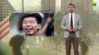 'Anti-China' rallies in Hong Kong accused of pro-American bias