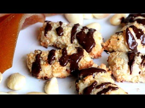 Almond Finger Cookies / صبيعات اللوز - CookingWithAlia - Episode 410 - default