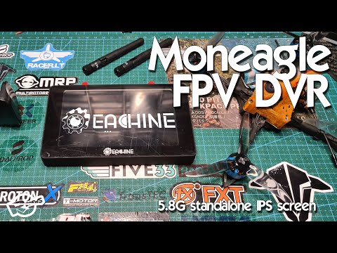 Eachine Moneagle FPV IPX 1000LUX DVR screen and DVR sample - UCv2D074JIyQEXdjK17SmREQ