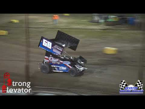 Winged Outlaw Feature - Coles County Speedway 5/14/21 - dirt track racing video image