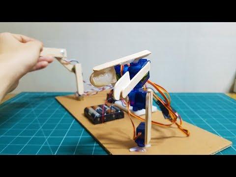 How to Make Servo Robotic Arm using Arduino. - UC6UrZFbU8m5dWpLCcaMSrjg