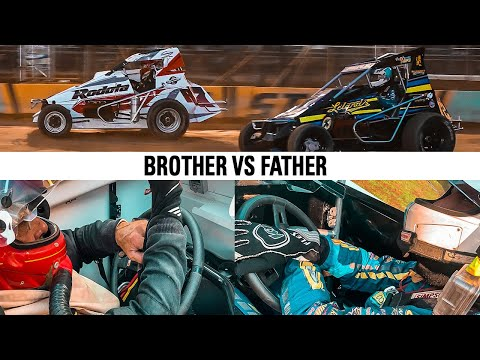 Battle To The Front From The Rear Of The Field   Action Track USA - dirt track racing video image