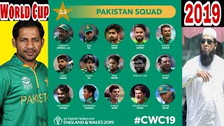 PCB Announced Pakistan Cricket Team Conform 15 Member Squad / Mussiab Sports /