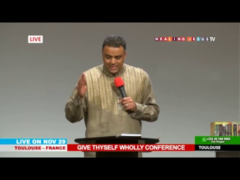 WATCH THE GIVE THYSELF WHOLLY CONFERENCE, LIVE FROM TOULOUSE - FRANCE. DAY 2 SESSION 2.