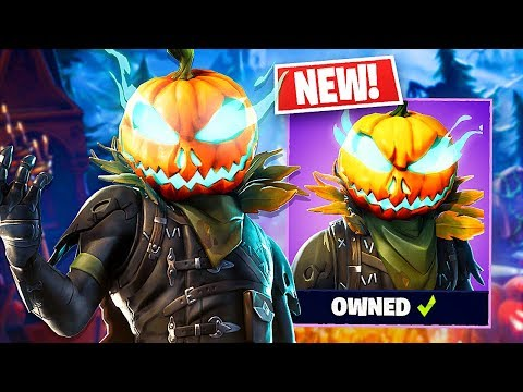 "*NEW* Halloween ""Hollowhead"" Pumpkin Skin! (Fortnite LIVE Gameplay) - UC2wKfjlioOCLP4xQMOWNcgg"