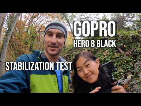 GoPro Hero 8 Black Hypersmooth Stabilization Test
