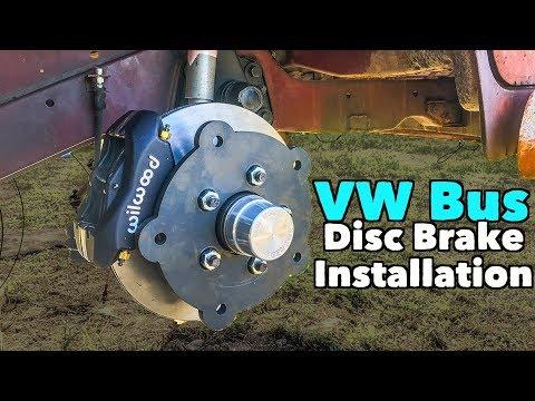 VW Bus - Wagenswest Bustang Disc Brake Installation - UCTs-d2DgyuJVRICivxe2Ktg