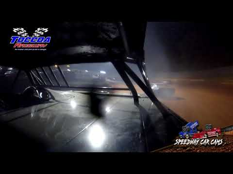 #4 Scott Willoughby - Stock 8 - 9-5-21 Toccoa Raceway - In-Car Camera - dirt track racing video image